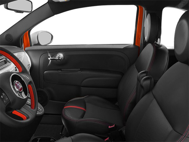 2014 FIAT 500e Prices and Values Hatchback 3D 500e Electric front seat interior