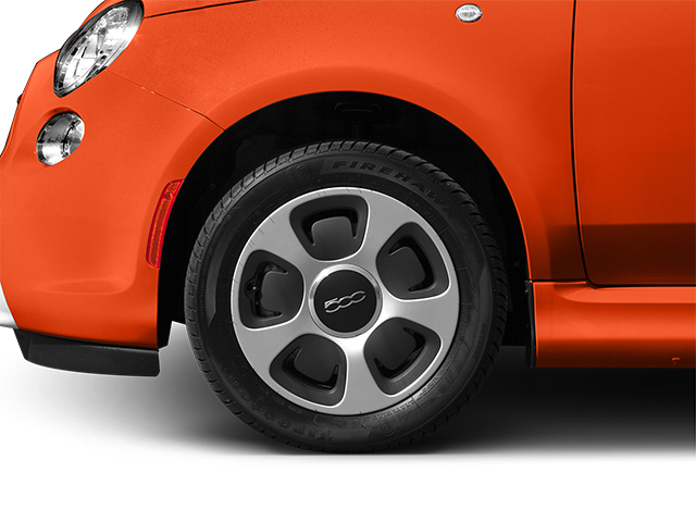 2014 FIAT 500e Prices and Values Hatchback 3D 500e Electric wheel