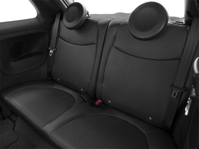 2014 FIAT 500e Prices and Values Hatchback 3D 500e Electric backseat interior