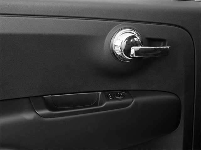 2014 FIAT 500e Prices and Values Hatchback 3D 500e Electric driver's side interior controls