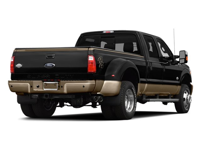 2014 Ford Super Duty F-350 DRW Prices and Values Crew Cab King Ranch 4WD side rear view
