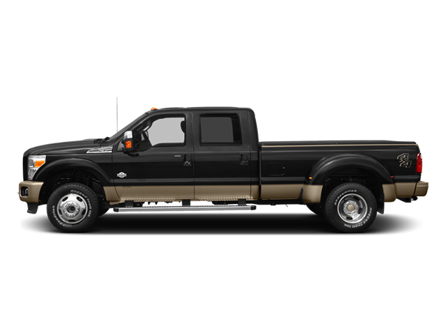 2014 Ford Super Duty F-350 DRW Prices and Values Crew Cab King Ranch 4WD side view
