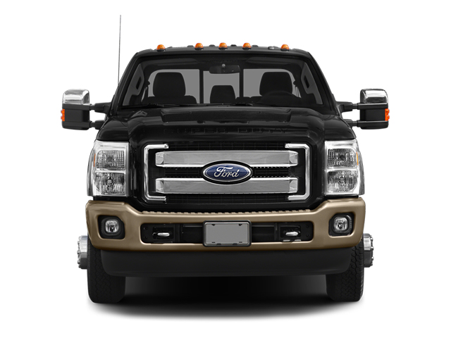 2014 Ford Super Duty F-350 DRW Prices and Values Crew Cab King Ranch 4WD front view