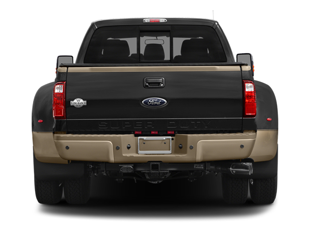 2014 Ford Super Duty F-350 DRW Prices and Values Crew Cab King Ranch 4WD rear view