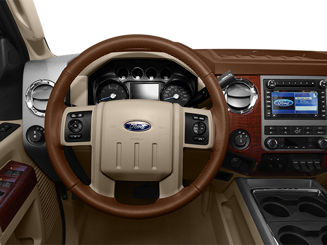 2014 Ford Super Duty F-350 DRW Prices and Values Crew Cab King Ranch 4WD driver's dashboard