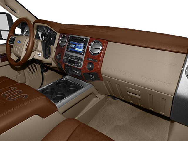 2014 Ford Super Duty F-350 DRW Prices and Values Crew Cab King Ranch 4WD passenger's dashboard