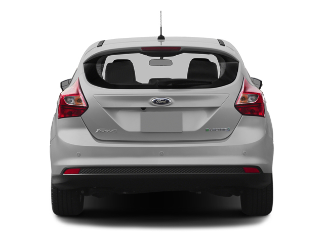 2014 Ford Focus Electric Prices and Values Hatchback 5D Electric rear view