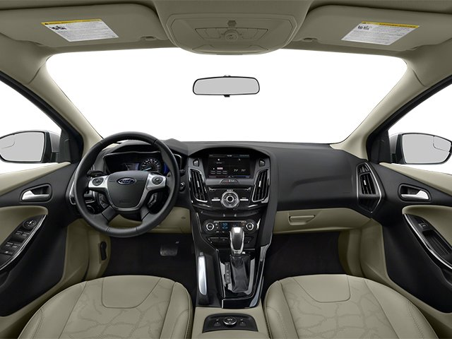2014 Ford Focus Electric Prices and Values Hatchback 5D Electric full dashboard