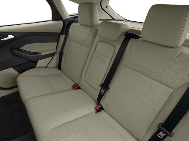 2014 Ford Focus Electric Prices and Values Hatchback 5D Electric backseat interior