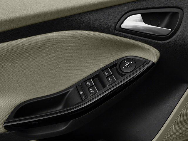 2014 Ford Focus Electric Prices and Values Hatchback 5D Electric driver's side interior controls
