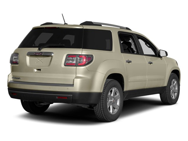 2014 GMC Acadia Pictures Acadia Wagon 4D SLT 2WD photos side rear view