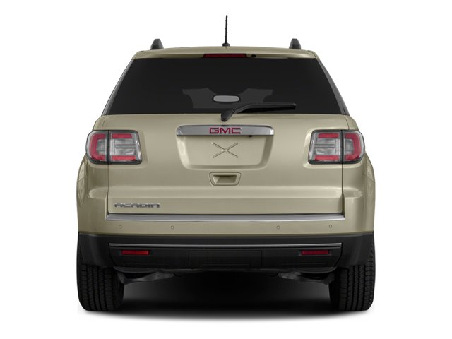 2014 GMC Acadia Pictures Acadia Wagon 4D SLE 2WD photos rear view