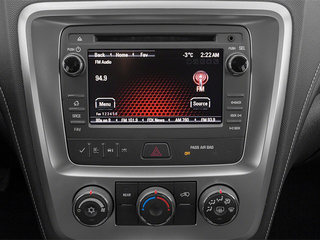 2014 GMC Acadia Prices and Values Utility 4D SLE2 AWD stereo system