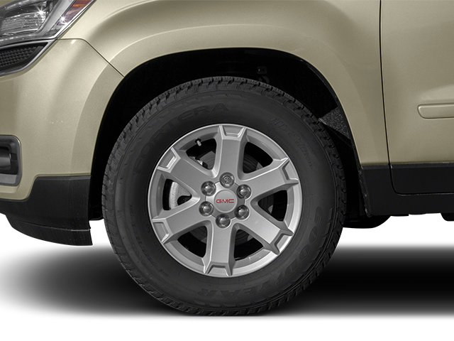 2014 GMC Acadia Pictures Acadia Wagon 4D SLE 2WD photos wheel