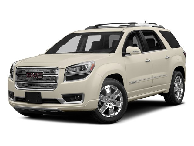 2014 GMC Acadia Prices and Values Wagon 4D Denali 2WD side front view