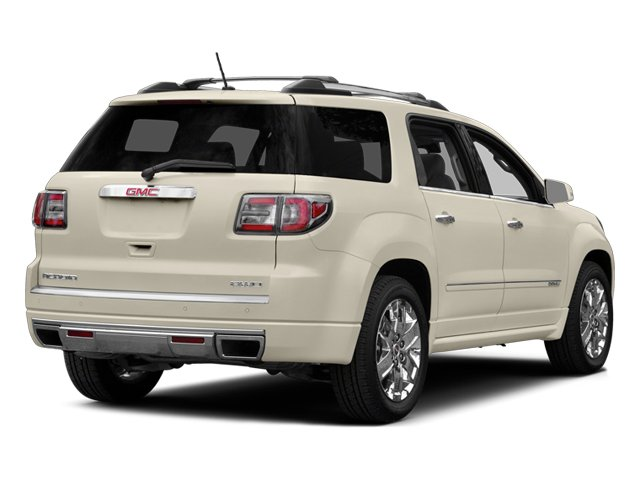 2014 GMC Acadia Prices and Values Wagon 4D Denali AWD side rear view