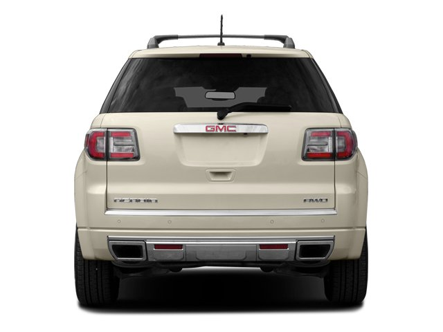 2014 GMC Acadia Prices and Values Wagon 4D Denali 2WD rear view