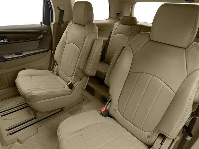 2014 GMC Acadia Prices and Values Wagon 4D Denali 2WD backseat interior