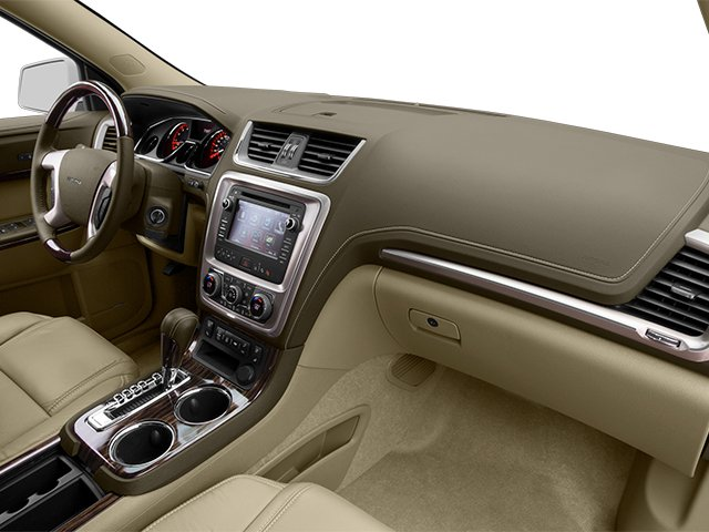 2014 GMC Acadia Prices and Values Wagon 4D Denali 2WD passenger's dashboard