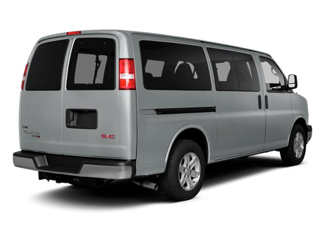 2014 GMC Savana Passenger Prices and Values Savana LS 135  side rear view