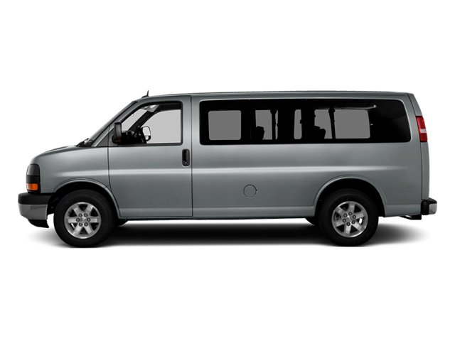 2014 GMC Savana Passenger Prices and Values Savana LS 135  side view