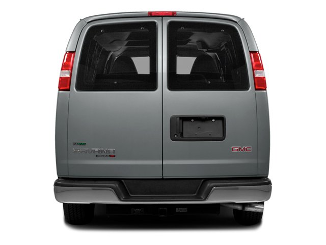 2014 GMC Savana Passenger Prices and Values Savana LS 135  rear view