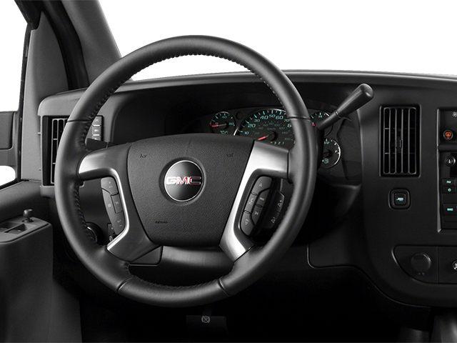 2014 GMC Savana Passenger Prices and Values Savana LS 135  driver's dashboard