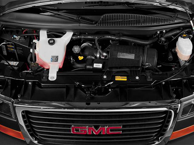 2014 GMC Savana Passenger Prices and Values Savana LS 135  engine