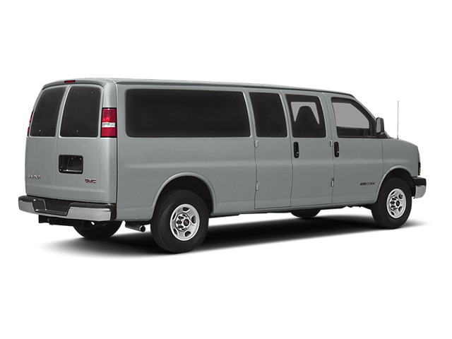 2014 GMC Savana Passenger Prices and Values Extended Savana LS 155  side rear view
