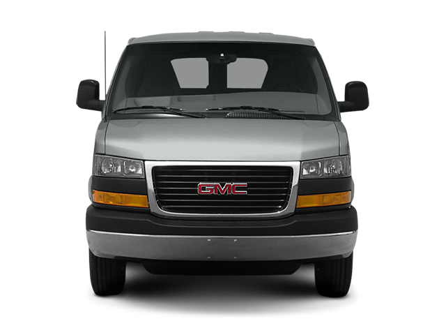 2014 GMC Savana Passenger Prices and Values Extended Savana LS 155  front view