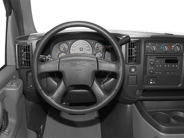 2014 GMC Savana Passenger Prices and Values Extended Savana LS 155  driver's dashboard
