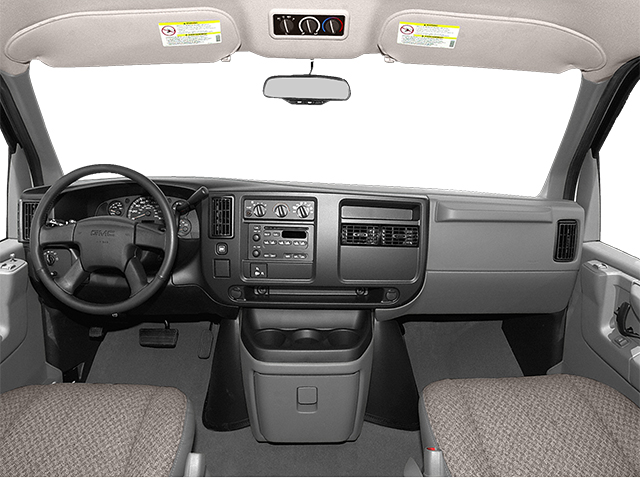 2014 GMC Savana Passenger Prices and Values Extended Savana LS 155  full dashboard