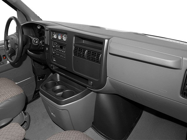 2014 GMC Savana Passenger Prices and Values Extended Savana LS 155  passenger's dashboard