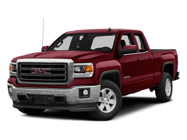 2014 GMC Sierra 1500 Pictures Sierra 1500 Extended Cab SLE 2WD photos side front view