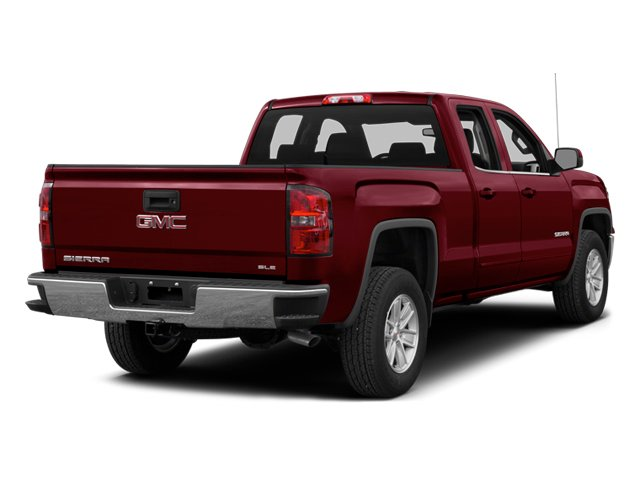 2014 GMC Sierra 1500 Pictures Sierra 1500 Extended Cab SLE 2WD photos side rear view