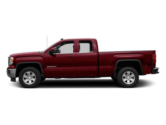 2014 GMC Sierra 1500 Pictures Sierra 1500 Extended Cab SLE 2WD photos side view