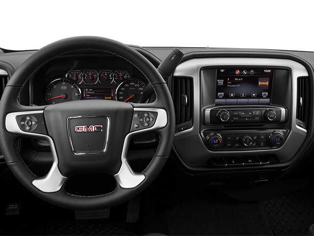 2014 GMC Sierra 1500 Pictures Sierra 1500 Extended Cab SLE 2WD photos driver's dashboard