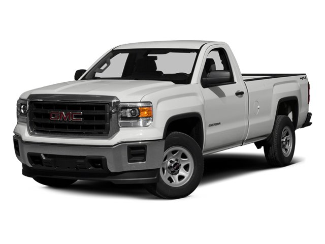 2014 GMC Sierra 1500 Pictures Sierra 1500 Regular Cab 4WD photos side front view
