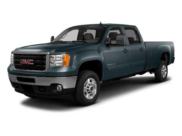 2014 GMC Sierra 2500HD Pictures Sierra 2500HD Crew Cab SLT 2WD photos side front view
