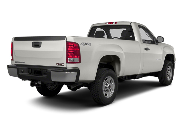 2014 GMC Sierra 2500HD Prices and Values Regular Cab SLE 2WD side rear view