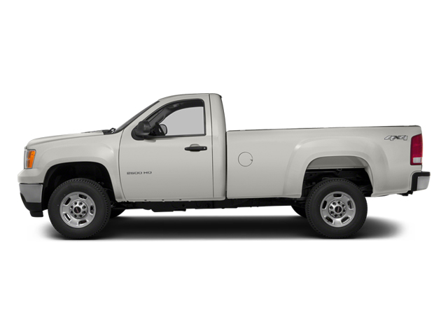 2014 GMC Sierra 3500HD Pictures Sierra 3500HD Regular Cab SLE 4WD photos side view