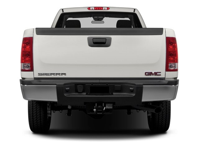 2014 GMC Sierra 2500HD Prices and Values Regular Cab SLE 2WD rear view