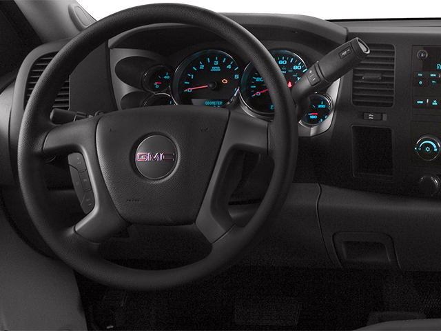 2014 GMC Sierra 2500HD Prices and Values Regular Cab SLE 2WD driver's dashboard