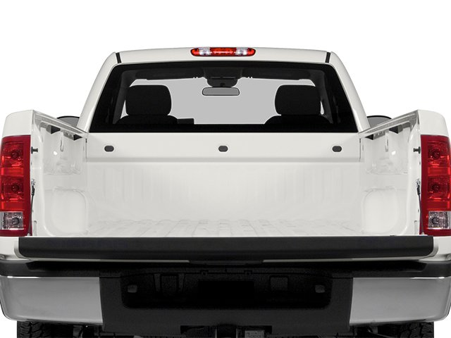 2014 GMC Sierra 3500HD Prices and Values Regular Cab SLE 4WD open trunk