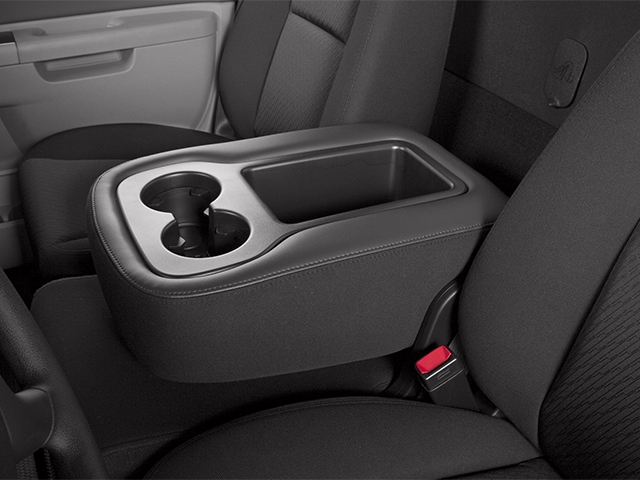 2014 GMC Sierra 3500HD Prices and Values Regular Cab SLE 4WD center storage console