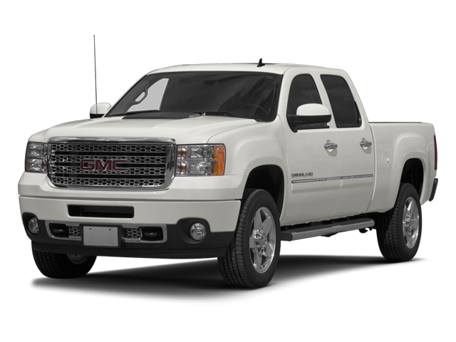 2014 GMC Sierra 2500HD Pictures Sierra 2500HD Crew Cab Denali 2WD photos side front view