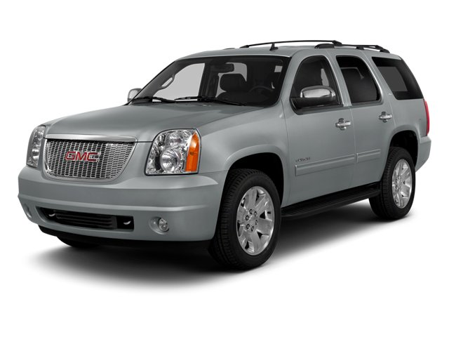 2014 GMC Yukon Pictures Yukon Utility 4D SLT 2WD photos side front view
