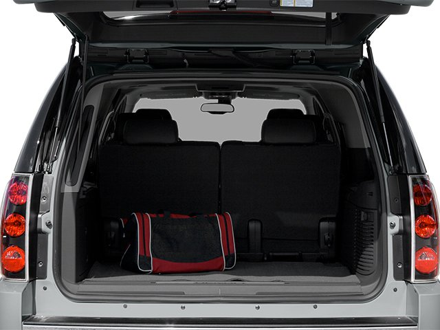 2014 GMC Yukon XL Prices and Values Utility 4D XL AWD open trunk
