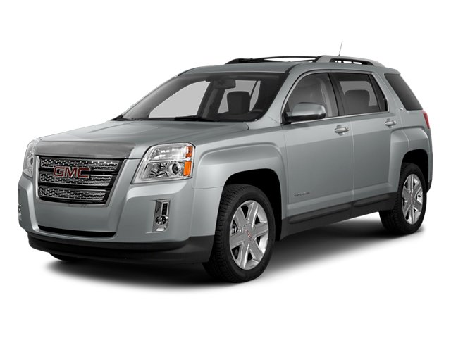 2014 GMC Terrain Prices and Values Utility 4D SLE 2WD side front view