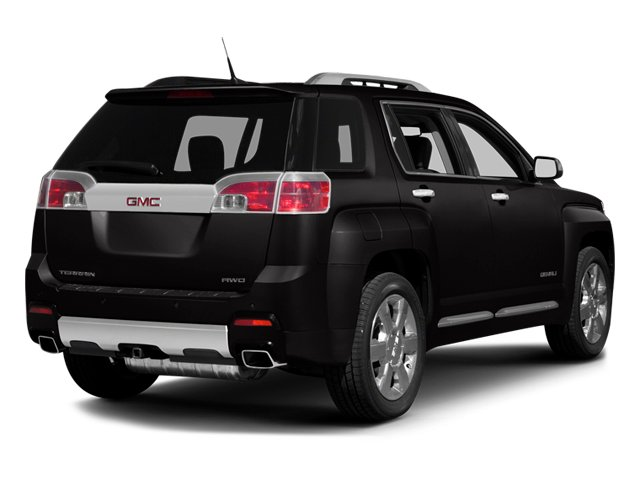 2014 GMC Terrain Prices and Values Utility 4D Denali 2WD side rear view
